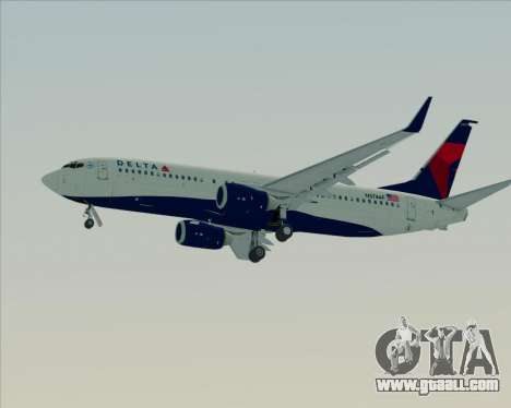 Boeing 737-800 Delta Airlines for GTA San Andreas wheels