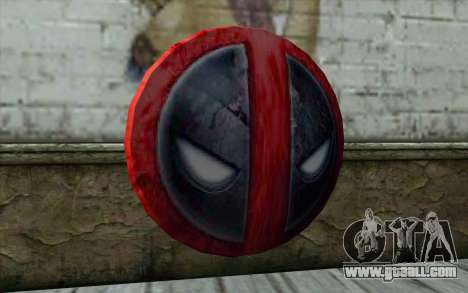 DeadPool Shield v1 for GTA San Andreas