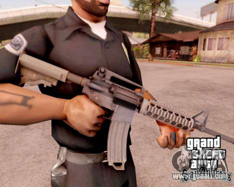 M4A1 BF4 for GTA San Andreas
