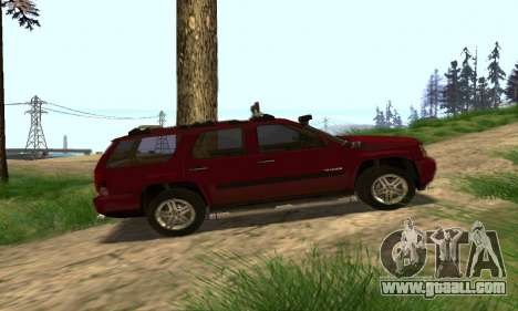 Chevrolet Tahoe Final for GTA San Andreas upper view