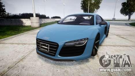 Audi R8 V10 Plus 2013 Vossen VVS CV3 for GTA 4
