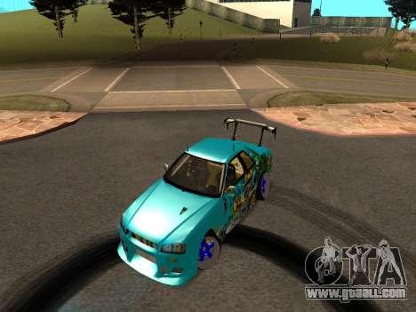 Nissan Skyline R34 EvilEmpire for GTA San Andreas