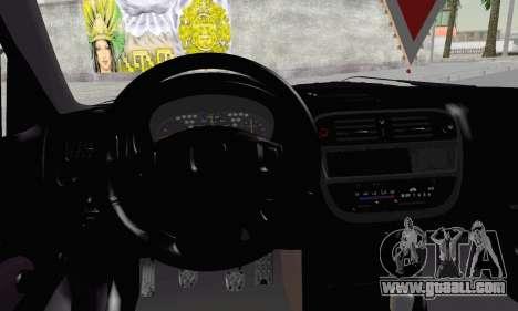 Honda Civic V Type EMR Edition for GTA San Andreas back left view