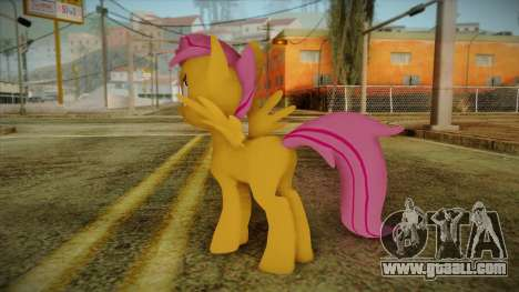 Scootaloo from My Little Pony for GTA San Andreas second screenshot