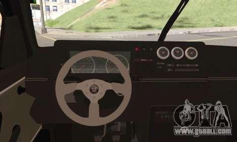 Volkswagen Jetta for GTA San Andreas back left view