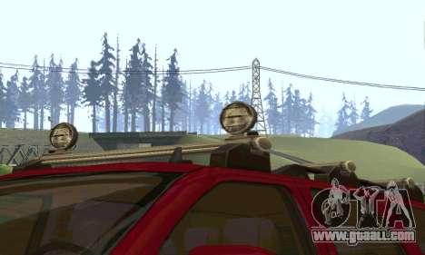 Chevrolet Tahoe Final for GTA San Andreas inner view