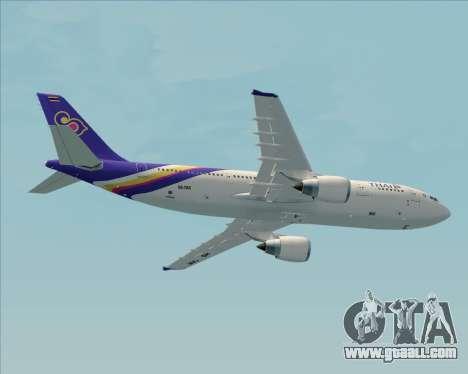 Airbus A300-600 Thai Airways International for GTA San Andreas engine