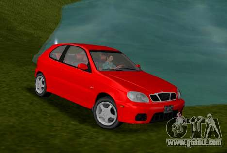 Daewoo Lanos Sport US 2001 for GTA Vice City