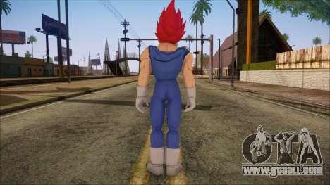 Vegeta Dios Skin for GTA San Andreas second screenshot