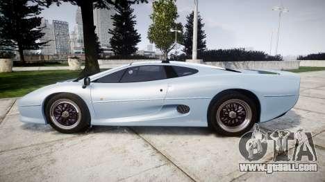 Jaguar XJ220 1992 [EPM] for GTA 4 left view