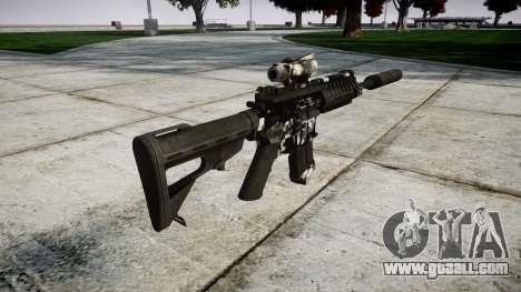 Machine P416 ACOG silencer PJ3 for GTA 4 second screenshot