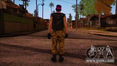 Guerilla from Counter Strike Condition Zero for GTA San Andreas second screenshot
