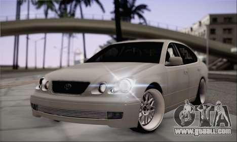 Toyota Aristo for GTA San Andreas