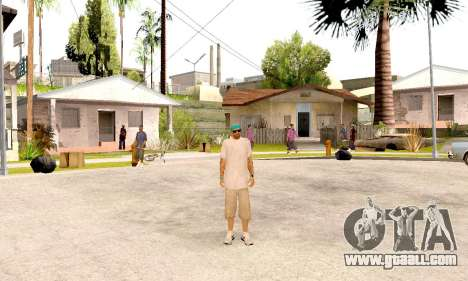 Varios Los Aztecas Gang Skin pack for GTA San Andreas fifth screenshot