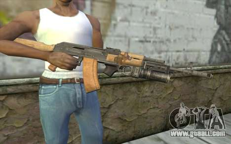 AK-74 To secure our for GTA San Andreas third screenshot
