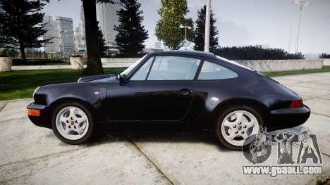 Porsche 911 (964) Coupe Razval for GTA 4 left view