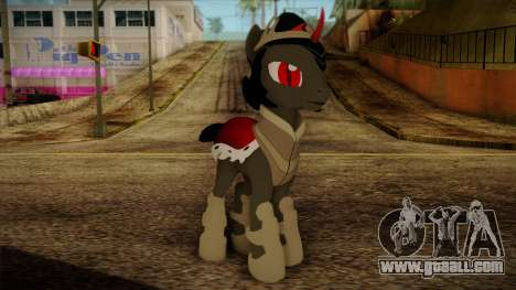 King Sombra from My Little Pony for GTA San Andreas