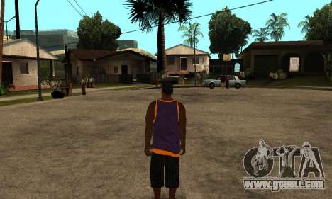 The Ballas Skin Pack for GTA San Andreas second screenshot
