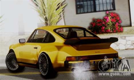 Porche 911 Turbo 1982 for GTA San Andreas left view