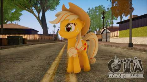 Applejack from My Little Pony for GTA San Andreas