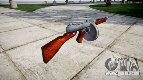 Submachine gun Thompson M1A1 drum icon1 for GTA 4 second screenshot
