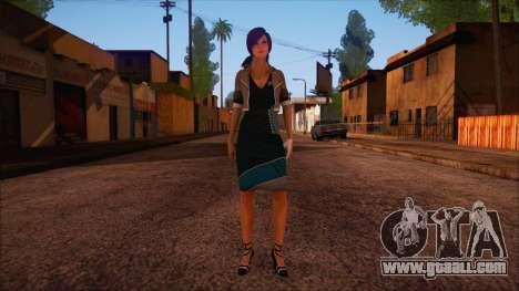 Modern Woman Skin 4 v2 for GTA San Andreas
