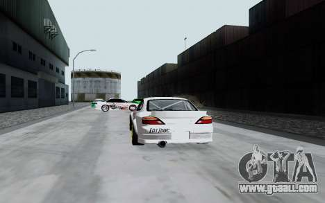Nissan Silvia S15 VCDT for GTA San Andreas right view