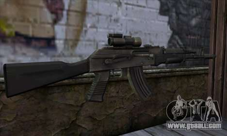 AK-103 Ravaged for GTA San Andreas second screenshot