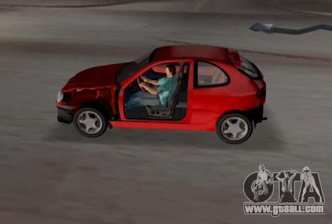 Daewoo Lanos Sport US 2001 for GTA Vice City engine