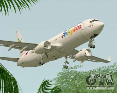 Boeing 737-800 South East Asian Airlines (SEAIR) for GTA San Andreas engine