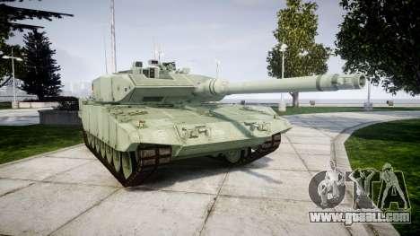 Leopard 2A7 DE Green for GTA 4