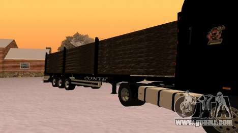CONTE Timber for GTA San Andreas left view