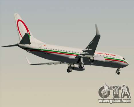 Boeing 737-8B6 Royal Air Maroc (RAM) for GTA San Andreas