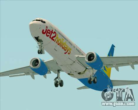 Boeing 737-800 Jet2Holidays for GTA San Andreas engine