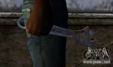 Wrench for GTA San Andreas third screenshot