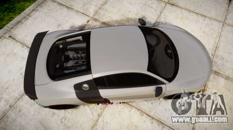 Audi R8 LMX 2015 [EPM] Sticker Bomb for GTA 4 right view