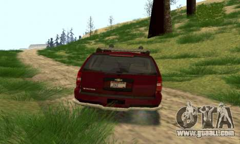 Chevrolet Tahoe Final for GTA San Andreas back left view