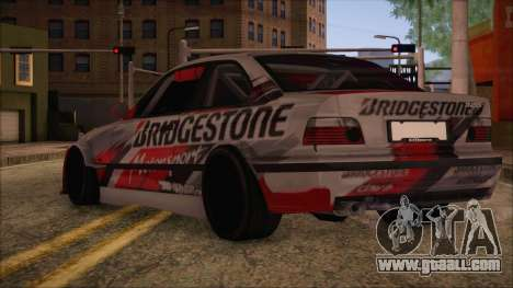 BMW E36 Coupe Bridgestone for GTA San Andreas left view