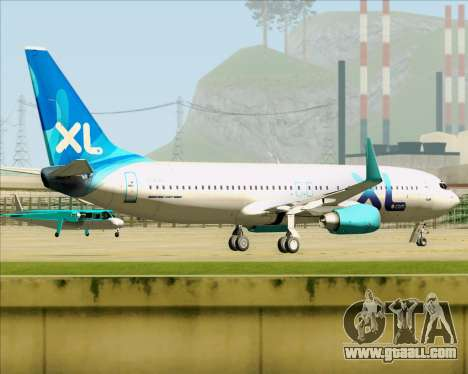 Boeing 737-800 XL Airways for GTA San Andreas right view