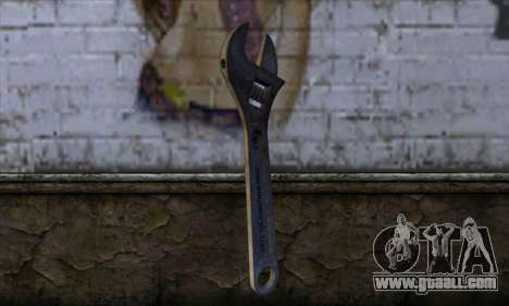 Wrench for GTA San Andreas
