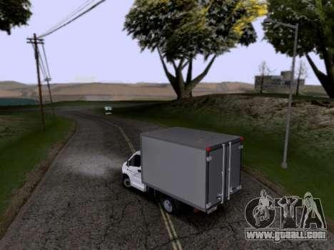 Gazelle Next for GTA San Andreas left view