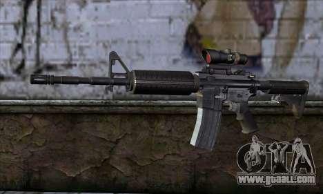 M4 Carbine ACOG for GTA San Andreas
