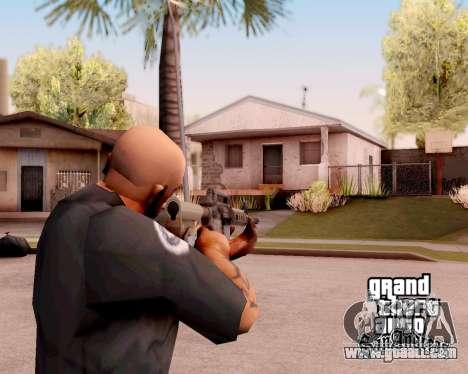 M4A1 BF4 for GTA San Andreas second screenshot