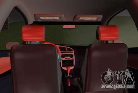 Daewoo Lanos Sport US 2001 for GTA Vice City interior