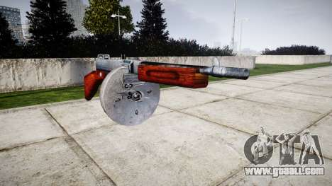 Submachine gun Thompson M1A1 drum icon1 for GTA 4