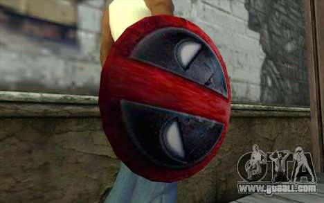 DeadPool Shield v1 for GTA San Andreas third screenshot