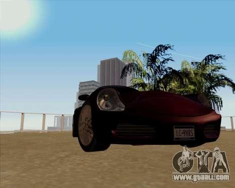 Stinger for GTA San Andreas back left view