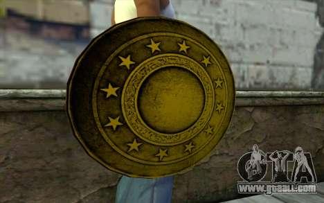 Old Gold Shield for GTA San Andreas third screenshot