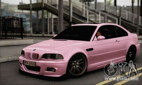 BMW M3 E46 StanceWork for GTA San Andreas