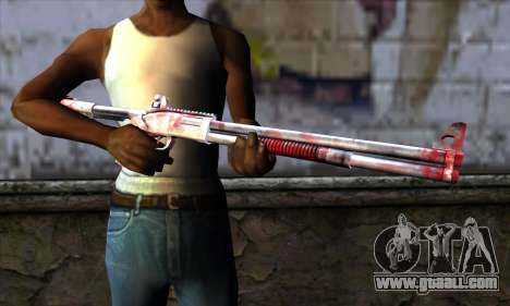 Chromegun Bloody for GTA San Andreas third screenshot